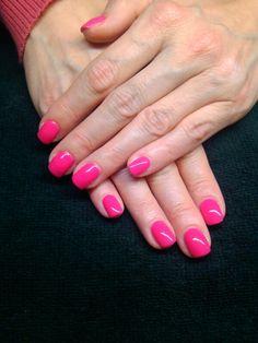 CND Shellac Pink Bikini Color.