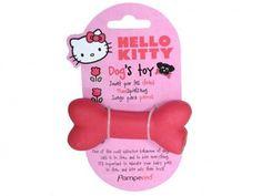 Jouet os en latex Hello Kitty. A partir de 5,90€