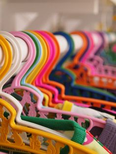 retro children's hangers - I remember these! Childrens Hangers, Kids Hangers, Baby Hangers, Plastic Hangers, Clothes Hangers, Vintage Colors, Good Old, Vintage Children, Small Backyards