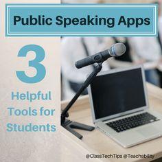 Public speaking assignment