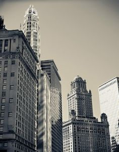 Chicago Black and White Cityscape 11x14 Photo by @Kaelyn Ryan , $45.00