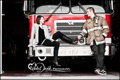 Turlock Wedding Photography Fire Department