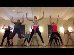 Zumba Bollywood routine to Chikni Chameli - choreo by Popi - YouTube