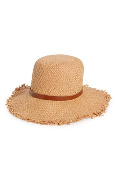 Pin for Later: The Big Way Emily Ratajkowski Just Upped Her Bikini Game Has Nothing to Do With Her Swimsuit  Sole Society Women's Fringe Straw Hat ($30)