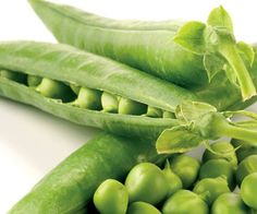 Fresh Peas - Simply in Season describes when fresh fruits and veggies are in season and info on how to prepare