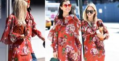 We can never resist a designer-look bargain here at SL: cue instant excitement when we spotted Mango's floral-print flowy dress, a dead ringer for Gucci's knockout printed silk mini.