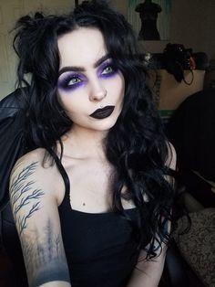 Witchy Makeup, Punk Makeup, Gothic Makeup, Skin Makeup, Beauty Makeup, Makeup Inspo, Makeup Inspiration, Pretty Makeup, Makeup Looks