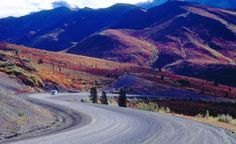 The Dempster Highway, Canada's only all-season public road to cross the Arctic Circle, is among the world's most unique driving routes. Starting near Dawson City, this 736 km unpaved two-lane highway traverses northern Yukon all the way to Inuvik, Northwest Territories.