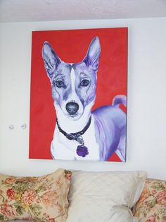 Miss my childhood dog, the basenji, Sheba. This looks so much like her!