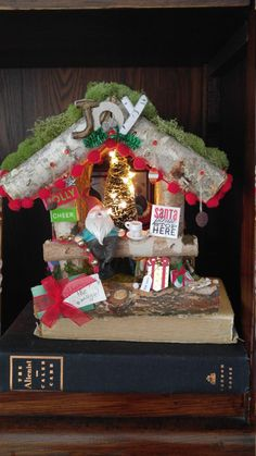 Check out this item in my Etsy shop https://www.etsy.com/listing/466012900/no-peeking-christmas-gnome-house