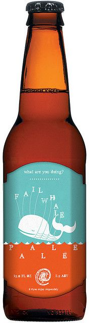 Fail Whale Pale Ale - I would have to try it!
