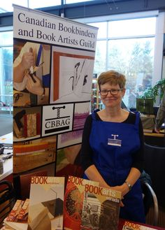 Canadian Bookbinders and Book Artists Guild at the Grimsby Wayzgoose, April 30, 2016. Photo by Don McLeod.