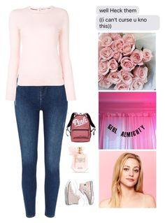 """""""Betty Cooper"""" by mrsstylik1999 ❤ liked on Polyvore featuring GALA, Madewell, Tory Burch and Victoria's Secret"""