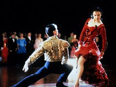 Strictly Ballroom - I still adore this movie!! Vintage Baz Luhrmann.