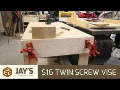 Build an Inexpensive Sliding Moxon Vise - 144 - YouTube