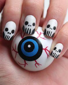 Modele de unghii pentru Halloween