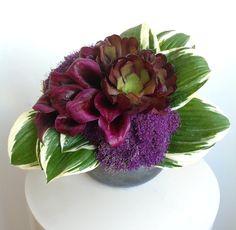 Plum Fall - Floral Art