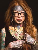 These 15 Portraits Show Body Modification In A Beautiful Light #refinery29  http://www.refinery29.com/body-modification-portraits