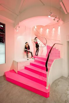 The Tally Weijl Store by Dan Pearlman, Paris store design