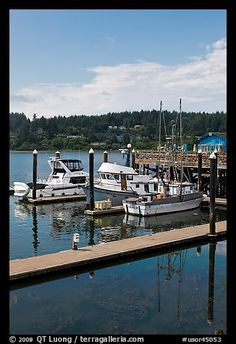 Siuslaw River and harbor, Florence. Oregon
