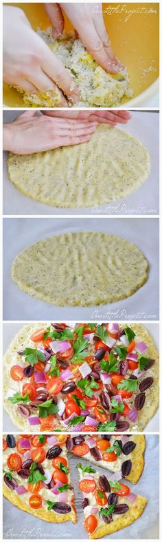 Cauliflower Pizza Crust - sharedbest