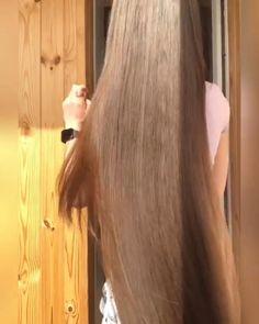 Really Long Hair, Super Long Hair, Beautiful Long Hair, Gorgeous Hair, Hair Movie, Long Indian Hair, Long Silky Hair, Waist Length Hair, Long Hair Video