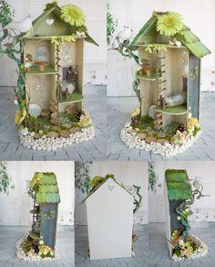 Fairyhouse maison de fée pour poupées 1/12 par lesdollspatidonirie