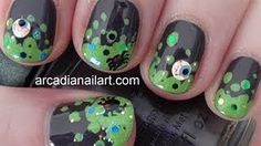 Witches Brew by Arcadia Nail Art and 25 other Fun Halloween Nail Art Ideas