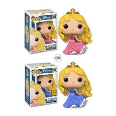 ***This item is a Pre-Order*** POP! Disney - Disney Princesses - Aurora as a stylized POP vinyl from Funko! Figure stands 3 inches and comes in a window dis Aurora Disney, Funko Pop Dolls, Funko Pop Figures, Vinyl Figures, Official Disney Princesses, Disney Princess Characters, Disney Pop, Walt Disney, Figurine Pop Disney