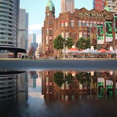 Hotel New York #Rotterdam #rain. Photo: @patbui83