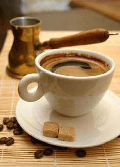 Kalimera - Good morning. Greek Coffee anyone? ~ Law and Fashion -Criminal Intent-