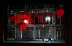 Don Giovanni - Royal Opera House, London Projection Designer: Luke Halls Director: Kasper Holten Set Design: Es Devlin Lighting design: Bruno Poet