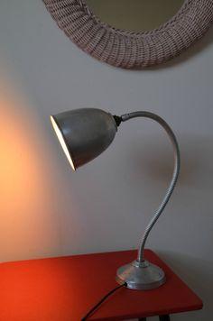 lampe d'architecte indu articulée, lampe d'atelier, vintage, années 70s, lamp de…