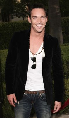 Jonathan Rhys Meyers. That smile. Those eyes. Mother of God *Super Troopers style*.