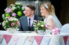 Handmade Cath Kidston Themed Wedding by Jodie Brennan