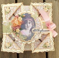 Konfirmasjonskort Card Ideas, Fancy, Frame, Decor, Lily, Cards, Decoration, Decorating, Frames