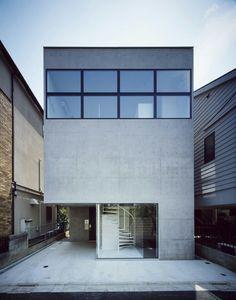 Modern concrete home //
