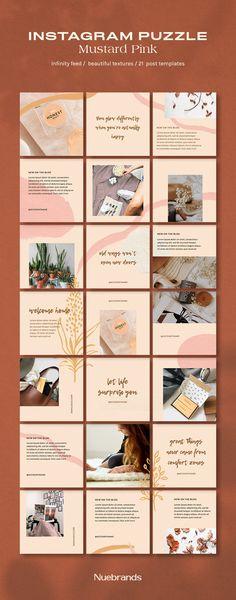 Instagram Feed Layout, Instagram Grid, Instagram Post Template, Instagram Design, Instagram Posts, Poster Sport, Poster Cars, Poster Retro, Branding