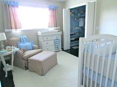 Project Nursery - Gray Baby Boy Nursery Whole Room