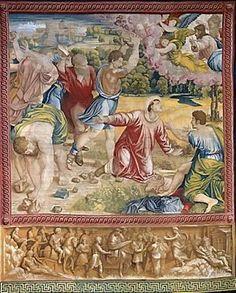 Lapidazione di santo Stefano 1515-1519 Pinacoteca Vaticana,Roma