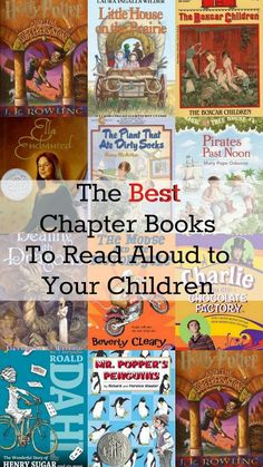Housewife Eclectic: The Best Books To Read Aloud to Kids Read Aloud Books, Best Books To Read, Good Books, My Books, Kids Reading, Reading Aloud, Reading Books, Summer Reading Lists, Chapter Books