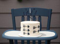Wild One Smash Cake, Arrow Smash Cake • Confetti Party Plans
