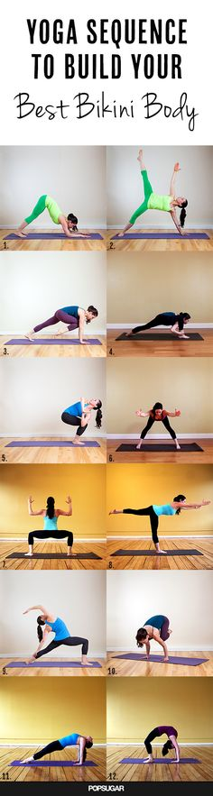 Bikini body yoga sequence