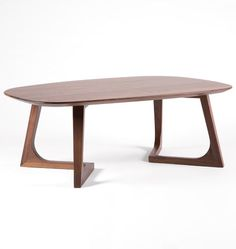 Chevron Walnut Coffee Table  D4961