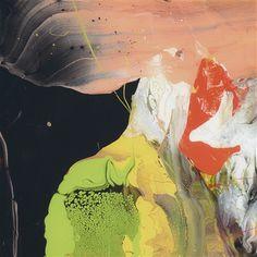 """Flow (P6)"" by Gerhard Richter (2014) #contemporaryart #contemporary #art #painting #drawing #GerhardRichter #Richter"