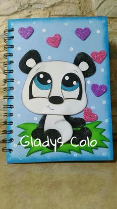 Decorate Notebook, Diy Notebook, Foam Crafts, Diy And Crafts, Paper Crafts, Scrapbook Cover, Cute Pens, Art Drawings For Kids, 3d Cards