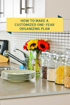 How to Make a One-Year Organizing Plan from simplify101.com