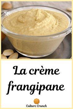 Creme Frangipane, Galette Frangipane, Sweet Sauce, Relleno, Macarons, Mousse, Caramel, Vegan Recipes, Food And Drink