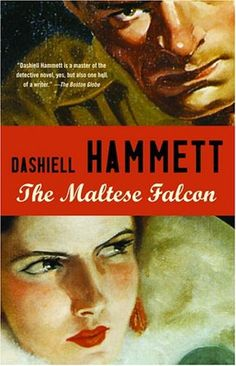 "It is amazing how many people we meet who 1) have never heard of Dashiell Hammett 2) can't pronounce the name ""Dashiell"" correctly. //The Maltese Falcon is a 1930 detective novel by Dashiell Hammett, originally serialized in the magazine Black Mask."