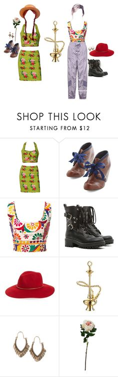 """""""summer sun"""" by thottieb ❤ liked on Polyvore featuring Todd Oldham, Chelsea Crew, Mochi, RED Valentino, Hinge, Jet Set Candy, LULUS and Laura Cole"""